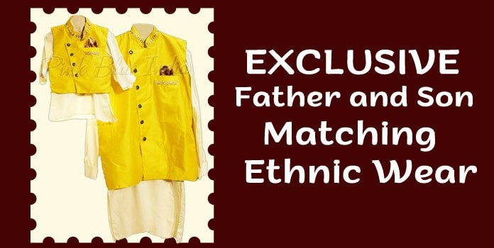 Father and Son Ethnic Wear, Indian Wedding Wear Clothes