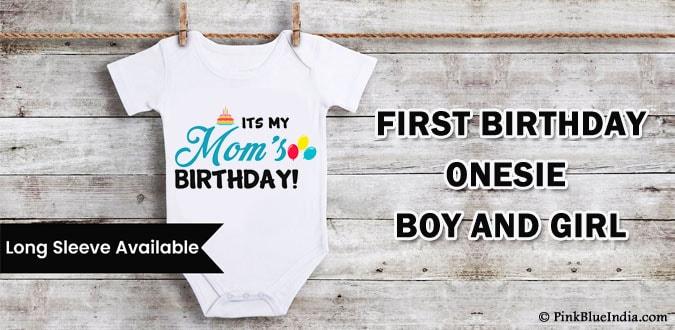 Boy Girl First Birthday Onesie, First Birthday T-shirts, Outfit