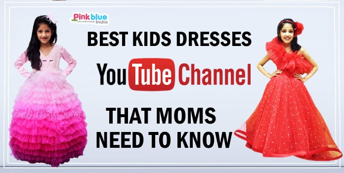 Subscribe YouTube Channel, Kids Birthday Party Dresses