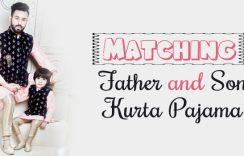 Matching Father and Son Kurta Pajama | Designer Clothing