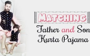 Matching Father and Son Kurta Pajama | Designer Clothing