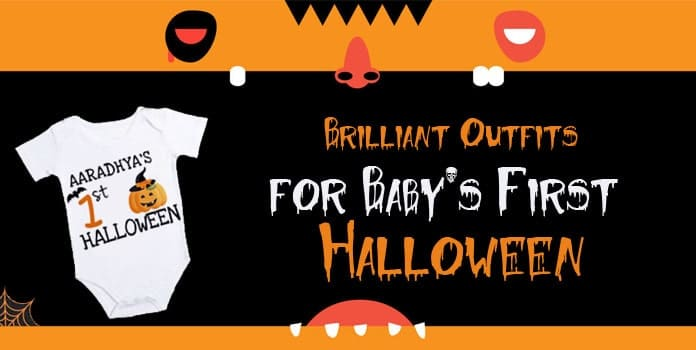 Baby's First Halloween Outfits, 1st Halloween Onesie Boy Girl