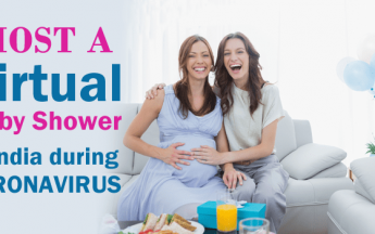 Host a Virtual Baby Shower in India during Coronavirus