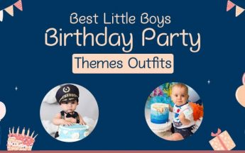 Awesome Themes and Outfit ideas for Boys Birthday Party