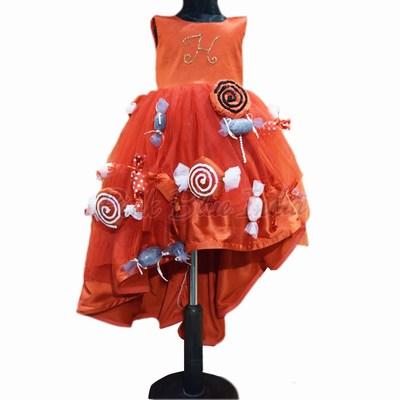 Candyland Dress, Toddler Baby Girl Candyland Dress