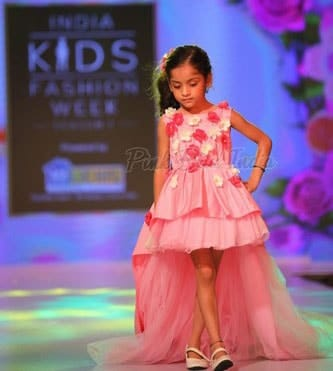 Pink Fashion Show Theme Dress for Baby Girl