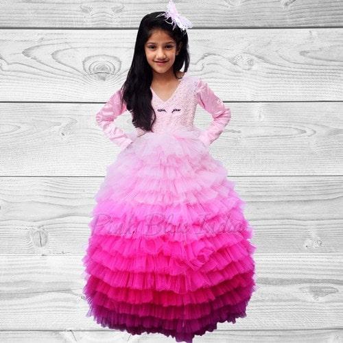 Princess Theme Birthday Party Dress, Princess Birthday Outfit Girl