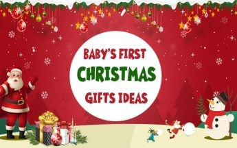 Best Gift Ideas to Celebrate your baby's first Christmas
