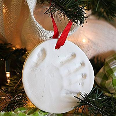Baby Hand and Footprint Ornament for Christmas
