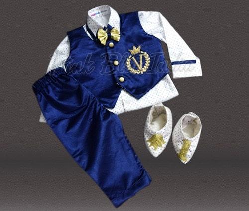 Newborn and Toddler Baby Boy Prince Costume