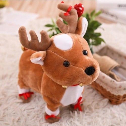 First Christmas Reindeer Stuffed Animal Gift