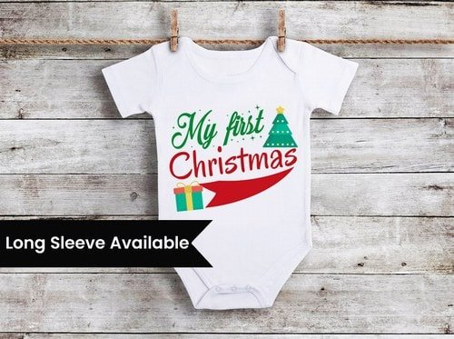 Baby's First Christmas Clothing, 1st Christmas Outfit Gift