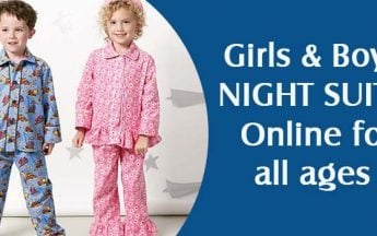Girls & Boys Night Suits & Nightwear Online for all ages