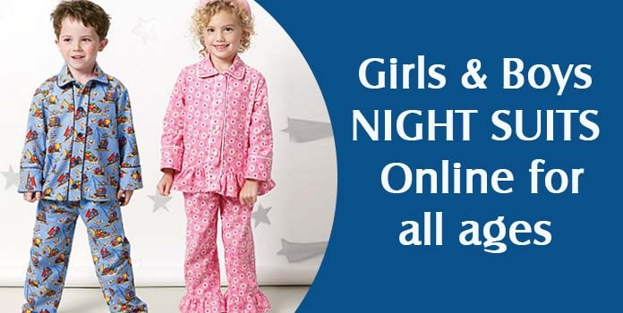 Kids Nightwear, Baby Boy Girl Nightwear Dress, Children Night Suits Online India