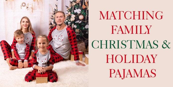 Family Christmas Pajamas, Matching Family Holiyday Pajamas PJs India