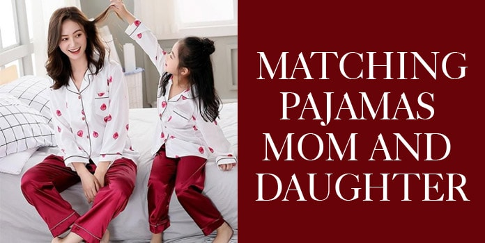 Mother Daughter Pajamas, Mommy and Me PJs, Mom Baby Nightdsuits