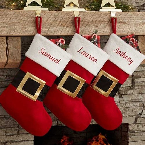 Baby 1st Christmas Personalized Christmas Stockings