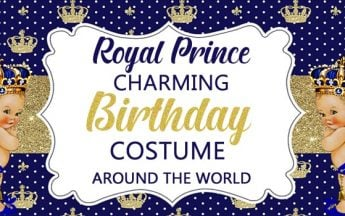 Royal Prince Charming Birthday Costume Around the World