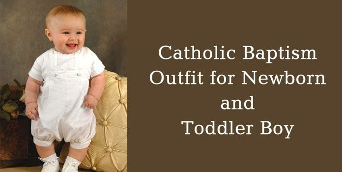 Toddler Boy Catholic Baptism Outfit, Newborn Christening clothing online