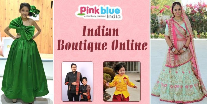 Best online boutique india, designer boutique store Kids, Women, Men
