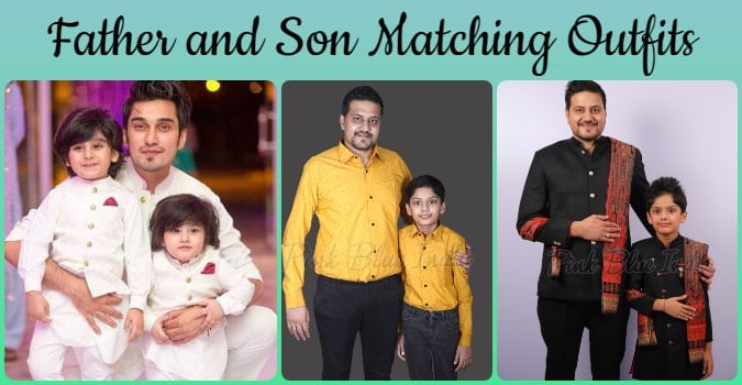 Father Son Matching Outfits, Dad Son Same Dress Online Boutique India