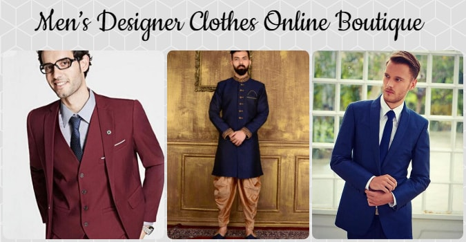 Designer Men's Clothing Online Boutique India, mens wear, Ethnic wear, Formal party