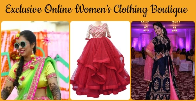Online Women's Clothing Boutique, Best Designer Boutique Store India