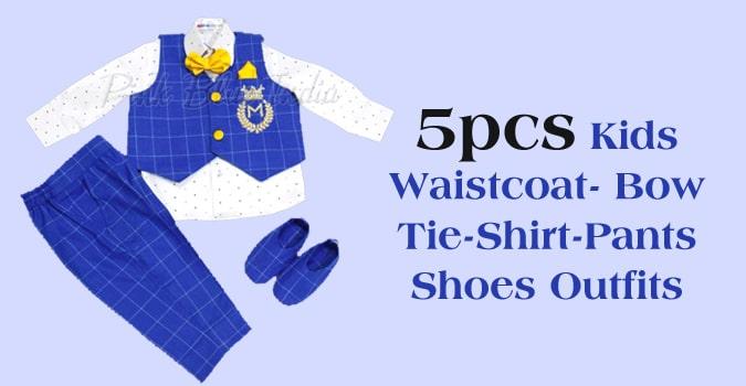 Kids Waistcoat, Baby Boy Waistcoat Outfit Online
