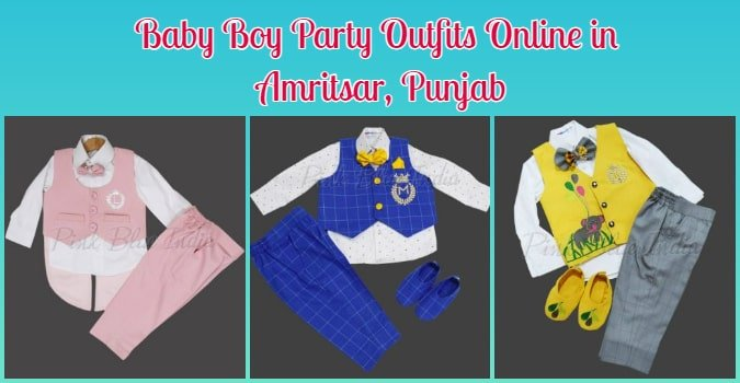 Baby Boy Party Outfits, Baby Boy Clothing Online In Amritsar