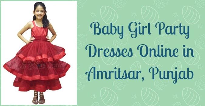 Girls Party Dresses in Amritsar, Kids Dresses in Amritsar Punjab