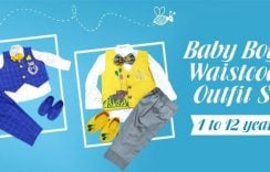 10+ Baby Boys Waistcoat Outfit Set 1 to 12 years in India