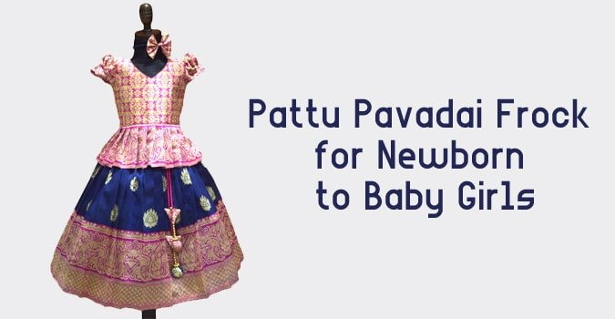 Pattu Pavadai Frock, Pattu Pavadai Baby Girl Silk Frocks, Kids Frocks
