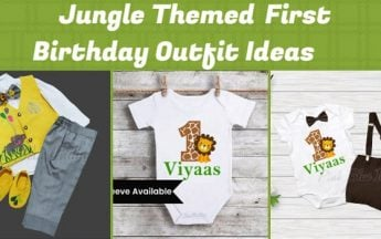 Jungle Safari Theme First Birthday Party Outfit Ideas