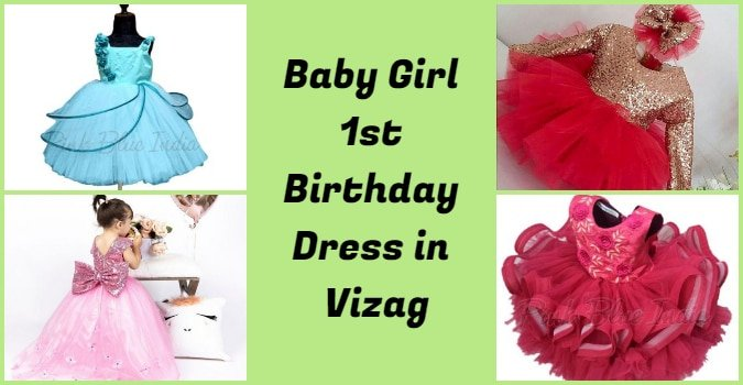 Baby Girl First Birthday Outfits Visakhapatnam, 1st Birthday Dress in Vizag