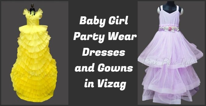 Baby Girl Party Wear Dresses Vizag, Kids Gowns Online Visakhapatnam