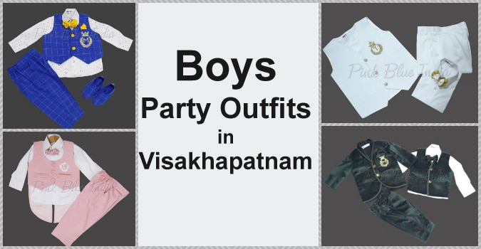 Boys Partywear, Baby Boy Birthday Outfits Online in Visakhapatnam