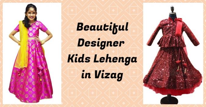 Kids Lehenga in Vizag, Girls Lehenga Choli Online shopping