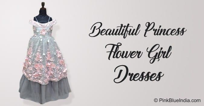 Princess Flower Girl Dresses Wedding Birthday Party