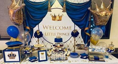 Royal Prince 1st Birthday Party Supplies