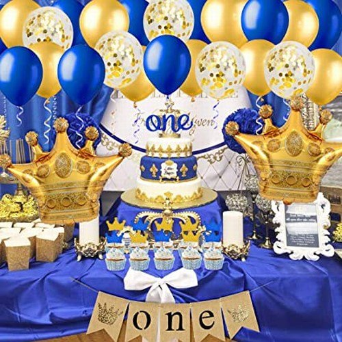 Royal Birthday Party Decorations, Little Prince Birthday Decoration