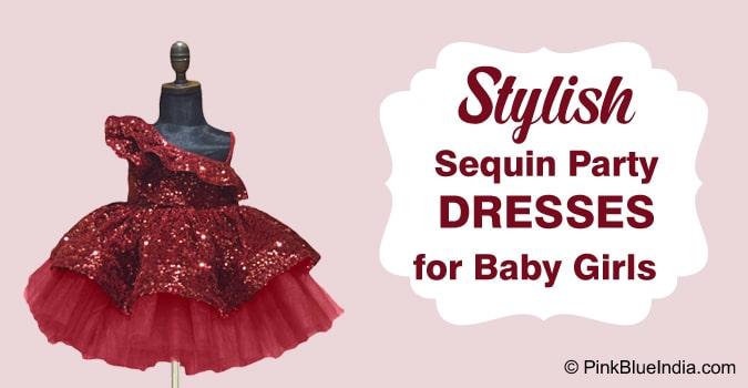 Baby Girl Sequin Party Dresses Online