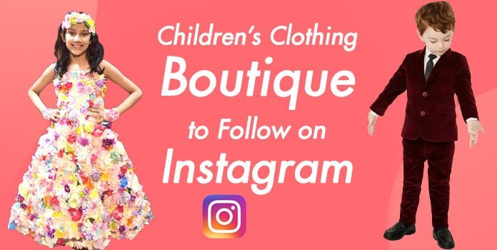 Children's Clothing Boutique Instagram, Kids Store, Baby wear Brand Instagram