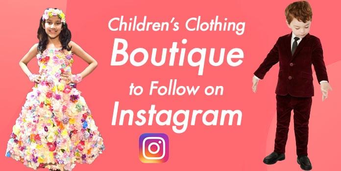 Children's Clothing Boutique Instagram, Kids Store, Baby wear Brand Instagram