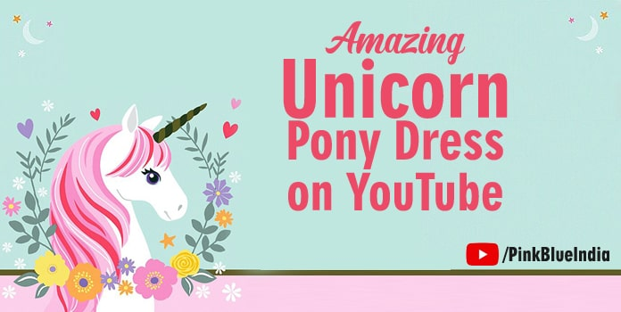 Unicorn Dresses Video, Little Pony dress on youtube