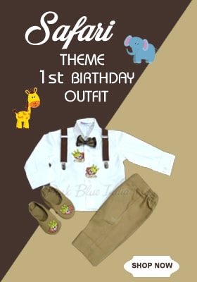 safari / jungle theme first birthday party Outfit