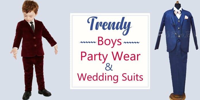 Boys Suits, Kids Party Wear Suits, Children Wedding Coat Suits
