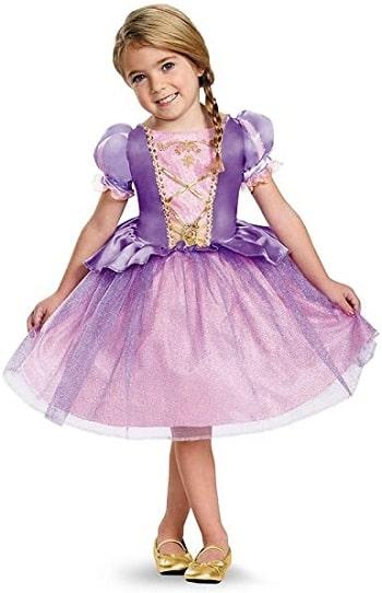 Disney Princess Rapunzel Dress, Girls Rapunzel Costume