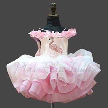 Flamingo Theme Princess Dress Costume