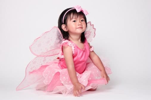 Girls Princess Fairy Costume Dress