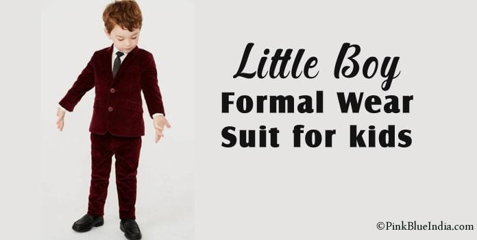 Little Boy Suits, Formal Wear for kids